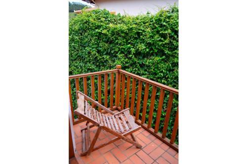 Uma varanda ou terraço em Pousada Asa do Vento