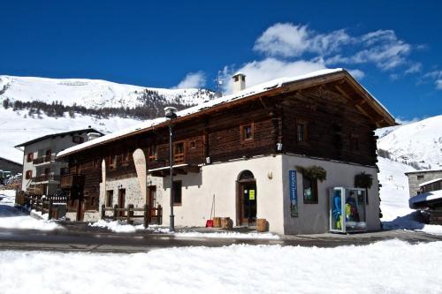Appartamenti Gallo v zimě