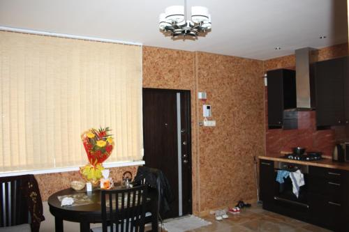 Кухня или мини-кухня в Апартаменты «Войкова 23»