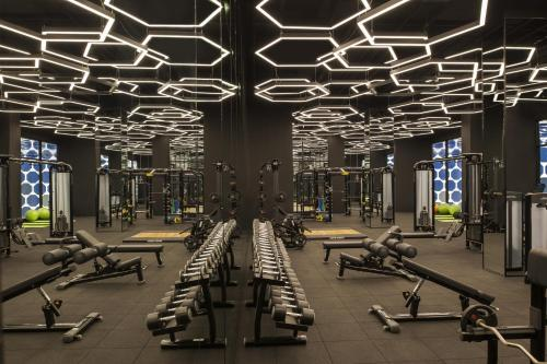 The fitness centre and/or fitness facilities at Maxx Royal Kemer Resort