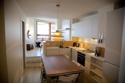 A kitchen or kitchenette at Munk - Avoriaz