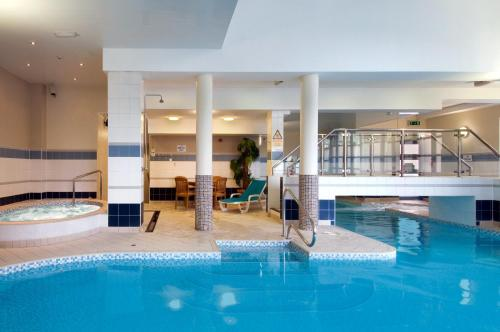 The swimming pool at or near Hilton Leeds City