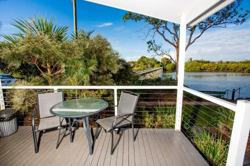 A balcony or terrace at Reflections Holiday Parks Terrace Reserve
