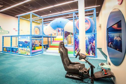 Spordikeskus ja/või sportimisvõimalused majutusasutuses Aqva Hotel & Spa