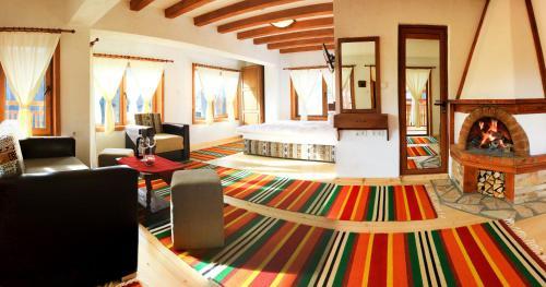 Кът за сядане в Хотел Мурсал