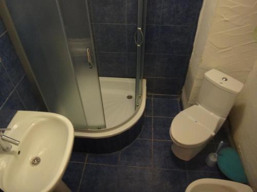 Ванная комната в Эко Отель Рыбинка