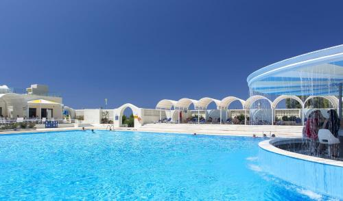 The swimming pool at or close to Sunshine Crete Beach