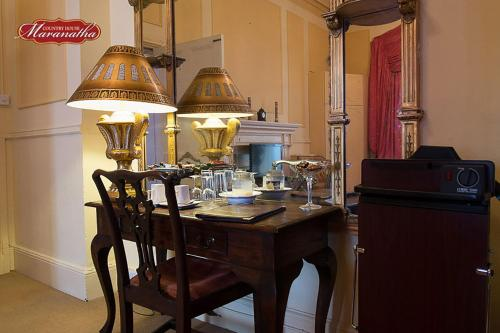 Restaurant ou autre lieu de restauration dans l'établissement Maranatha Country House