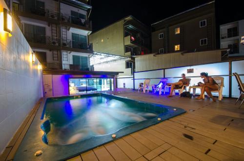 The swimming pool at or near iCheck inn Ao Nang Krabi