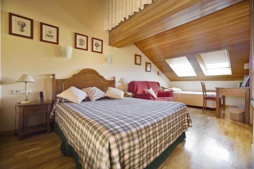 Cama o camas de una habitación en Hotel Ekai