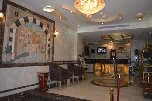 O saguão ou recepção de Hilion Hotel Apartments