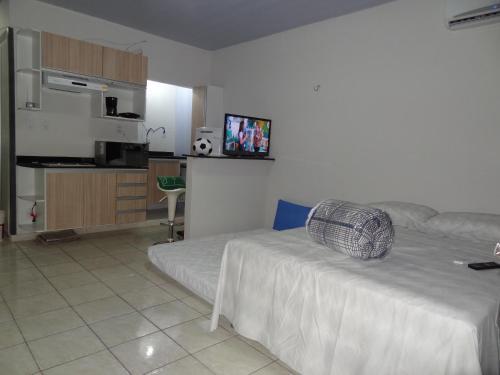 Zona de estar de Cumaru Flat Manaus 916