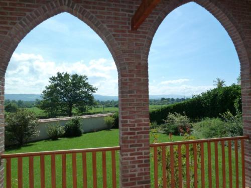 Balcon ou terrasse dans l'établissement Gîtes de Maulmont