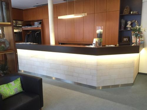 Lobby/Rezeption in der Unterkunft Hotel Kronprinz