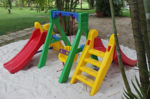 Children's play area at Porto Zarpa Hotel