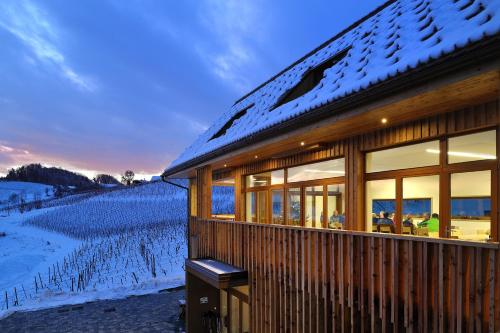 Wine & Tourisam Valdhuber Apartments during the winter