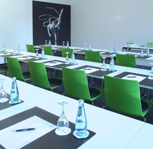 The business area and/or conference room at Lindner Hotel & Sports Academy