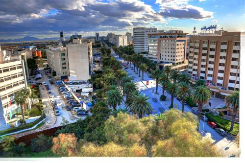 ホテル ラ メゾン ブランシェの鳥瞰図