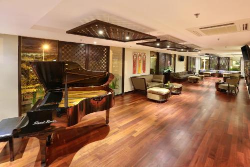 The lobby or reception area at Bali Nusa Dua Hotel