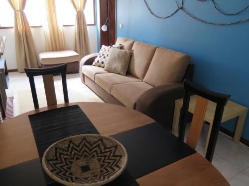 A seating area at Aveiro Luz