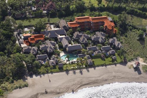 A bird's-eye view of Grand Balisani Suites