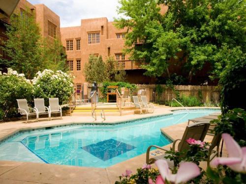 The swimming pool at or near Hotel Santa Fe