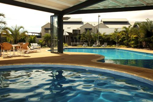 The swimming pool at or near Mantra Geraldton