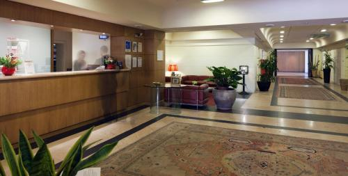The lobby or reception area at Art Hotel Museo