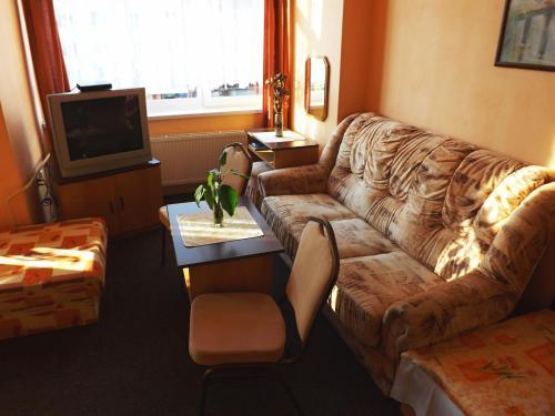 Гостиная зона в Hotel Avion