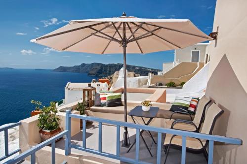 Μπαλκόνι ή βεράντα στο Lucky Homes - Oia
