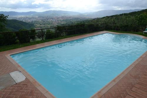 The swimming pool at or near Agriturismo La Corte