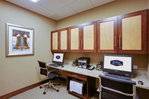 The business area and/or conference room at Hampton Inn & Suites Philadelphia/Bensalem