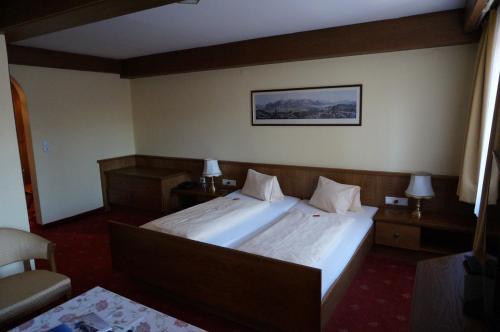 Cama o camas de una habitación en Hotel Happ