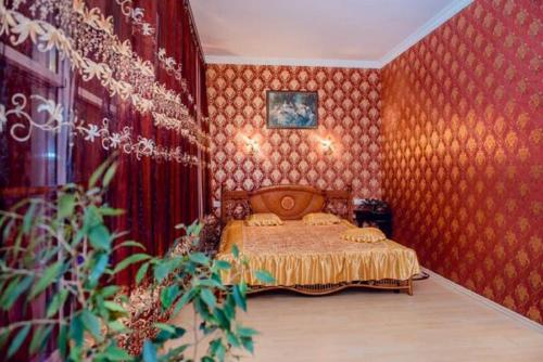 Кровать или кровати в номере Hotel Vivat Provincia