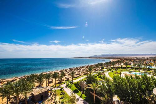 Caribbean World Resort Soma Bay dari pandangan mata burung
