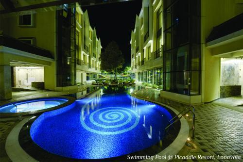The swimming pool at or close to Meritas Picaddle Resort Lonavala