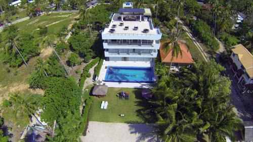 A bird's-eye view of Bohol South Beach Hotel
