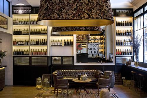 The lounge or bar area at Praktik Vinoteca