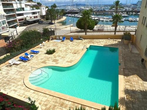 A view of the pool at Palma Vista or nearby