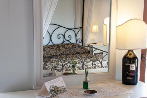 Letto o letti in una camera di Anna Camere