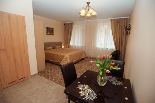 Lova arba lovos apgyvendinimo įstaigoje Apartamentai Vyta