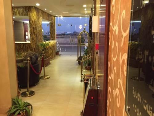 O saguão ou recepção de Iqamaty Hotel Apartments