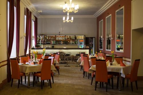 Restauracja lub miejsce do jedzenia w obiekcie Hotel Reymont