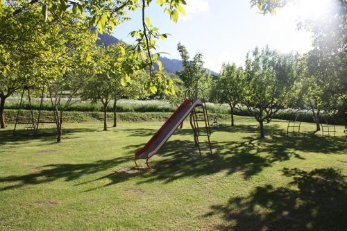Children's play area at Hotel Casa Estampa