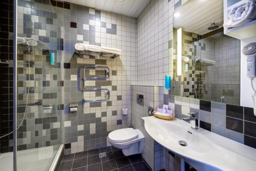 Ванная комната в Отель Старт