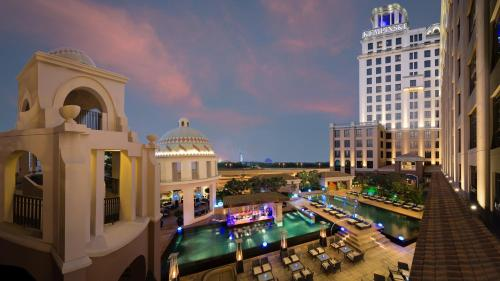A view of the pool at Kempinski Hotel Mall of the Emirates or nearby