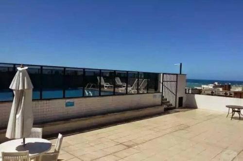 Uma varanda ou terraço em Apartamento Monte Paradiso