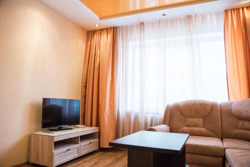 Гостиная зона в Апартаменты на Ленина