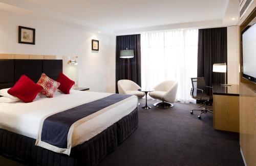 Cama o camas de una habitación en Adelaide Rockford