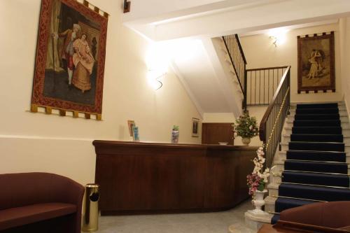 The lobby or reception area at Sorella Luna